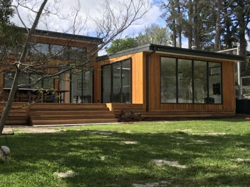mt martha house extension completed